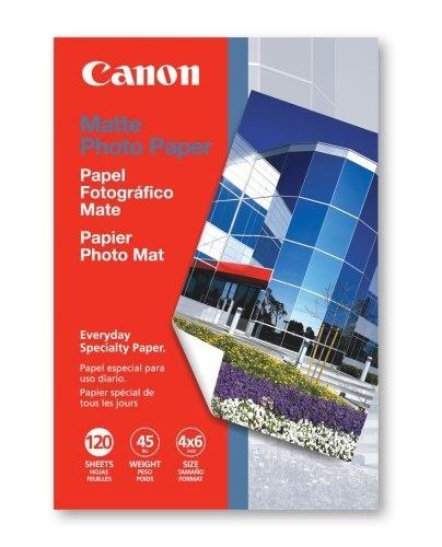 Canon Papel Fotográfico Mate MP-101, 4'' x 6'', 120 Hojas