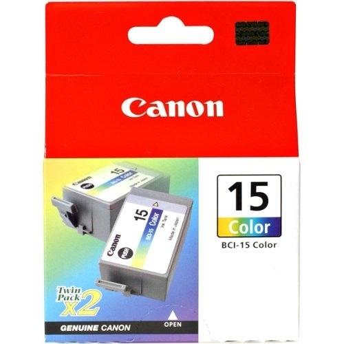 Cartucho Canon Paquete Doble BCI-15 Tricolor