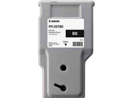 Tanque de Tinta Canon PFI-207BK Negro 300ml