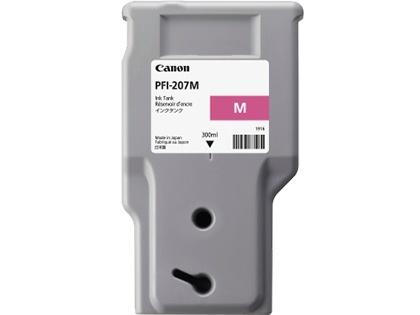 Tanque de Tinta Canon PFI-207M Magenta 300ml