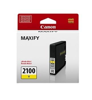 Tanque de Tinta Canon PGI-2100 Amarillo 9.6ml