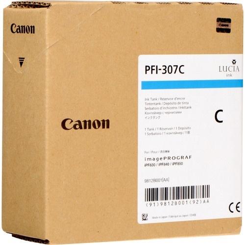 Tanque de Tinta Canon PFI-307C Cyan 330ml
