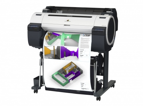 Plotter Canon imagePROGRAF iPF670 24'', Color, Inyección, Print - incluye Pedestal ― Para validar garantía debes adquirir póliza de instalación con pago adicional, consulta con servicio al cliente