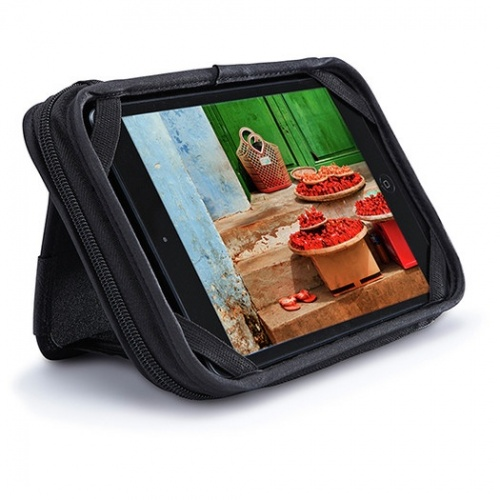 Case Logic Funda de Poliéster QTS-208-BLACK para Tablet 7'', Negro