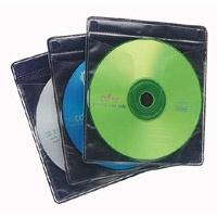 Case Logic Funda ProSleeves para CD/DVD, 60 Piezas, Negro