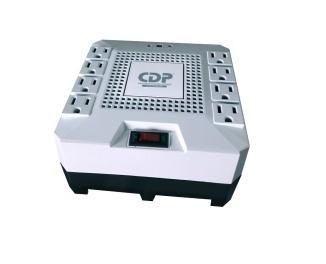 Regulador CDP R-AVRPRO1808, 1000W, 1800VA, 8 Contactos