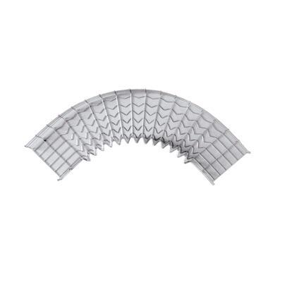 Charofil Curva Pre-Fabricada 90° 66/200EZ, Gris
