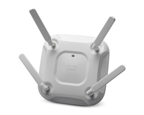 Access Point Cisco Aironet AIR-CAP3702E-N-K9, Inalámbrico, 1300 Mbit/s, 2x RJ-45, 2.4/5GHz - Las Antenas se Venden por Separado