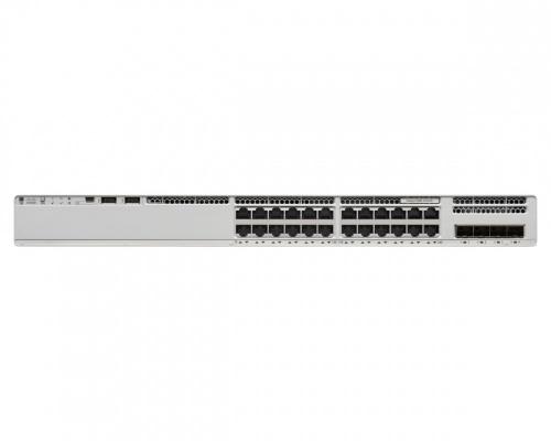 Switch Cisco Catalyst 9200L, 24 Puertos PoE + 4x Gigabit Ethernet, 128 Gbit/s, 16000 Entradas - No Administrable