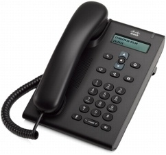 Cisco Teléfono SIP 3905, 2x RJ-45, Altavoz, Chocolate