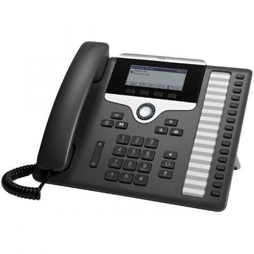 Cisco Teléfono IP 7861, 16 Líneas, Altavoz, Charcoal