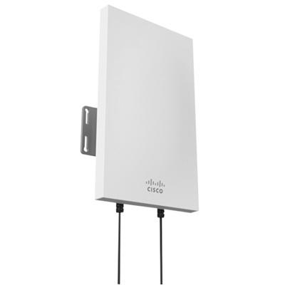 Cisco Meraki Antena de Banda Sectorial Dual MA-ANT-27, 9/12dBi, 2.4/5GHz