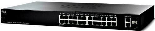 Switch Cisco Gigabit Ethernet Smart Plus SG220-26, 26 Puertos 10/100/1000Mbps + 2 Puertos SFP, 52 Gbit/s, 8192 Entradas - Gestionado
