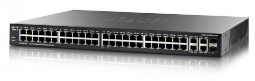 Switch Cisco Gigabit Ethernet SG350-52, 52 Puertos 10/100/1000Mbps + 2 Puertos SFP, 104 Gbit/s, 16.384 Entradas - Gestionado
