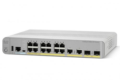 Switch Cisco Gigabit Ethernet WS-C3560CX-12PD-S PoE 240W, 12 Puertos 10/100/1000Mbps + 2 Puertos SFP+, 68 Gbit/s - Gestionado