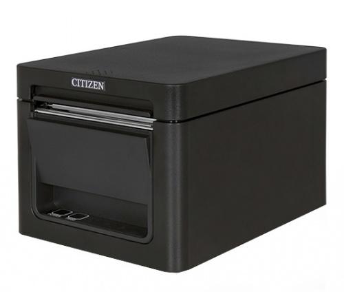 Citizen CT-E351, Impresora de Tickets, Térmica Directa, 203DPI, RJ-45/USB, Negro