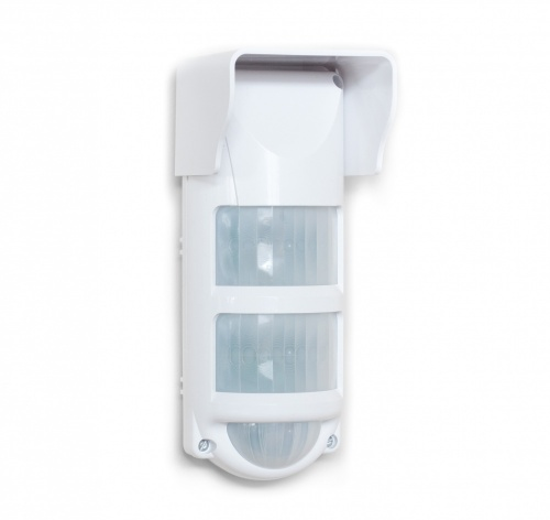 C.Nord Sensor de Movimiento PIR de Montaje en Pared CN-PIR-OUTDOOR, Inalámbrico, Anti-Pet, 12 Metros, Blanco