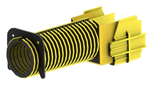 Commscope Tubo Protector para Cable, 50mm, Amarillo