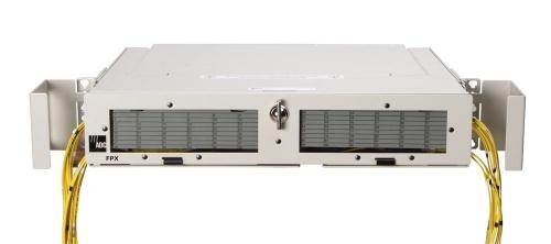 CommScope Panel de Empalme FPX, hasta 48 Puertos, 2U, Blanco