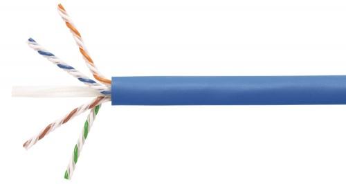 Commscope Bobina de Cable Cat6a UTP 4 Pares, 305 Metros, Azul