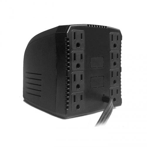 Complet Regulador ERV-6-001, 650W, 1300VA, 8 Contactos