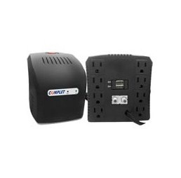 Regulador Complet ERV-6-002, 650W, 140VA, Entrada 60V, 8 Contactos