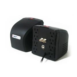 Regulador Complet RPLUS 1300, 650W, 1300VA, 8 Contactos