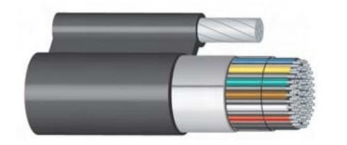 Condumex Cable Telefónico 622061, 1 Metro, Negro - Precio por Metro