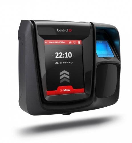 Control ID Control de Acceso y Asistencia Biométrico iDFlex, Huella y MiFare, 20.0000 Usuarios, USB
