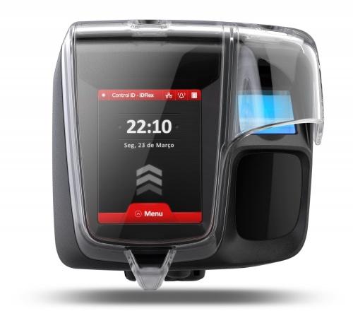 Control ID Control de Acceso y Asistencia Biométrica iDFlex solo Huella, 200.000 Usuarios, RS-485, USB