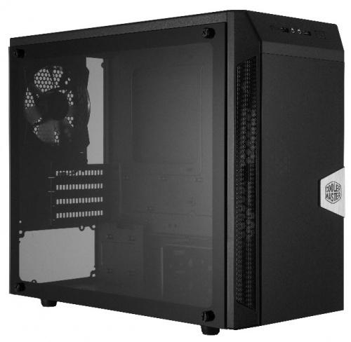 Gabinete Cooler Master CMP305 con Ventana, Midi-Tower, Micro ATX/Mini-ITX, USB 2.0/3.1, incluye Fuente de 500W, Negro