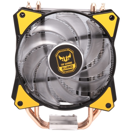 Disipador CPU Cooler Master MasterAir MA410P TUF Gaming Edition, 120mm, 650 - 2000RPM, Negro/Amarillo