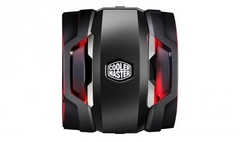 Disipador CPU Cooler Master MasterAir Maker 8, 140mm, 600-1800RPM, Negro/Rojo