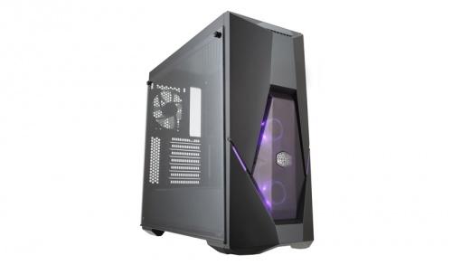 Gabinete Cooler Master MasterBox K500 con Ventana RGB, Midi-Tower, ATX/micro-ATX/mini-ITX, USB 3.1, sin Fuente, Negro
