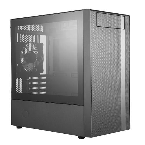Gabinete Cooler Master MasterBox NR400 con Ventana, Mini-Tower, Micro ATX/Mini-ITX, USB 3.0, sin Fuente de Poder, Negro