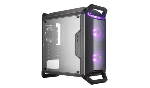 Gabinete Cooler Master MasterBox Q300P con Ventana RGB, Midi-Tower, Micro-ATX/Mini-ITX, USB 3.0, sin Fuente, Negro