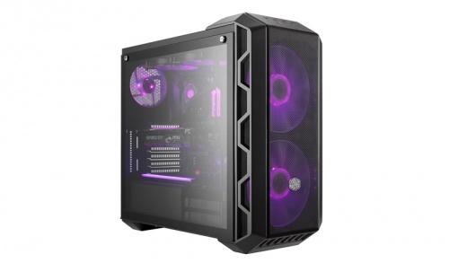 Gabinete Cooler Master MasterCase H500 con Ventana, Midi-Tower, ATX/Micro-ATX/Mini-ITX, USB 3.0, sin Fuente, Gris