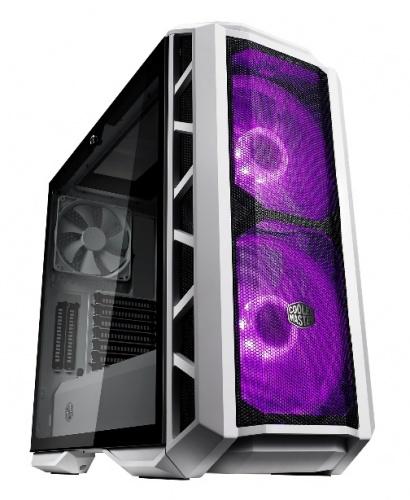 Gabinete Cooler Master MasterCase H500P con Ventana RGB, Midi-Tower, ATX/EATX/Micro-ATX/Mini-ITX, USB 3.0/2.0, sin Fuente, Blanco