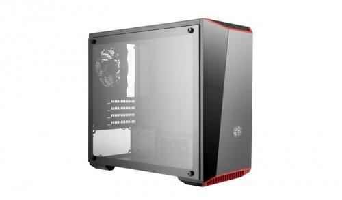 Gabinete Cooler Master MasterBox Lite 3.1 TG con Ventana, Mini-Tower, Micro-ATX/Mini-ITX, USB 2.0/3.0, sin Fuente, Negro