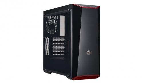 Gabinete Cooler Master MasterBox Lite 5 con Ventana, Midi-Tower, ATX/Micro-ATX/Mini-ITX, USB 3.0, sin Fuente, Negro