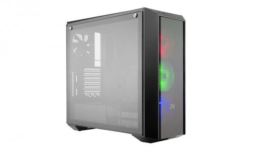 Gabinete Cooler Master MasterBox Pro 5 RGB con Ventana, Midi-Tower, ATX/EATX/Micro-ATX/Mini-ITX, USB 3.0, sin Fuente, Negro