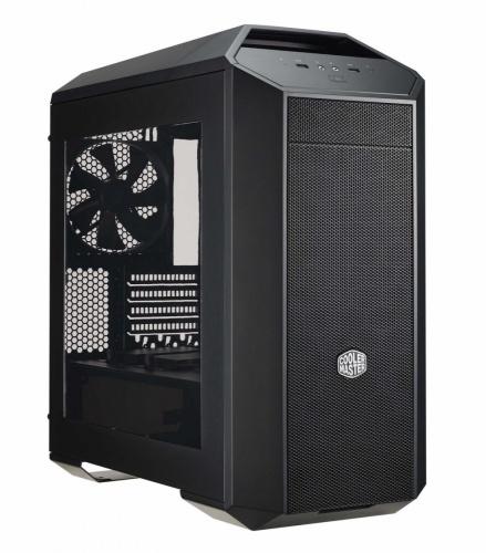 Gabinete Cooler Master MasterCase Pro 3, con Ventana, Mini-Tower, Micro-ATX/Mini-ITX, USB 3.0, Negro