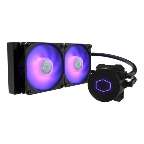 Cooler Master MasterLiquid ML240L V2 RGB Enfriamiento Liquido para CPU, 2x 120mm, 650 - 1800RPM