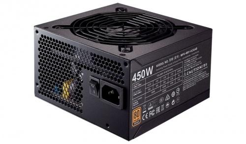 Fuente de Poder Cooler Master MWE 450 80 PLUS Bronze, 20+4 pin ATX, 120mm, 450W