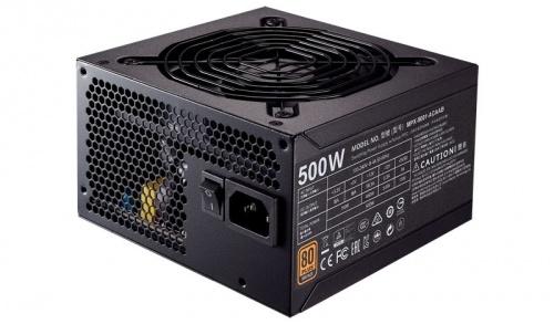 Fuente de Poder Cooler Master MWE 500 80 PLUS Bronze, 20+4 pin ATX, 120mm, 500W