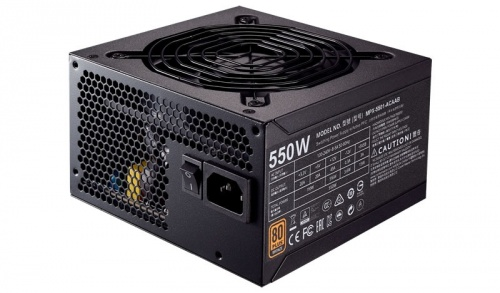 Fuente de Poder Cooler Master MWE 550 80 PLUS Bronze, 20+4 pin ATX, 120mm, 550W