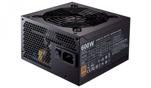 Fuente de Poder Cooler Master MWE 80 PLUS Bronze, 20+4 pin ATX, 120mm, 600W