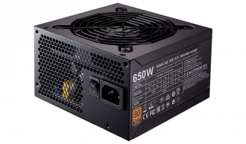 Fuente de Poder Cooler Master MWE 650 80 PLUS Bronze, 20+4 pin ATX, 120mm, 650W