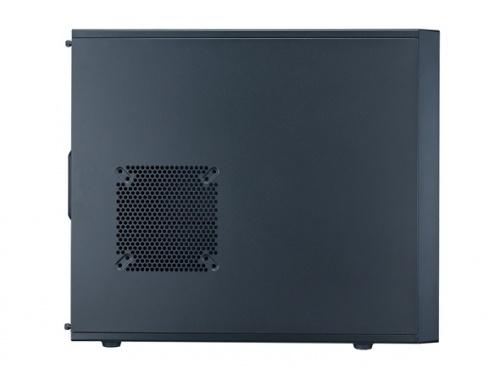 Gabinete Cooler Master N400, Midi-Tower, ATX/micro-ATX, USB 2.0/3.0, sin Fuente, Negro