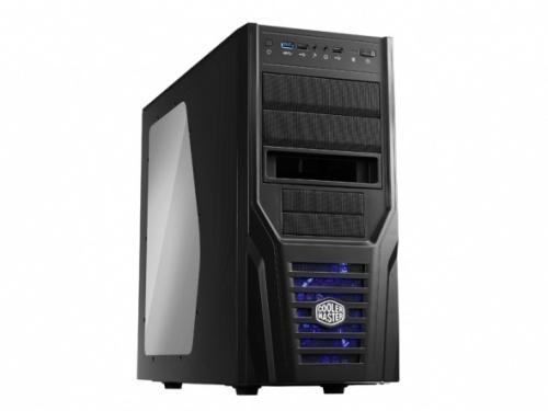 Gabinete Cooler Master Elite 431 Plus, ATX/micro ATX, USB 2.0/3.0, sin Fuente, Negro